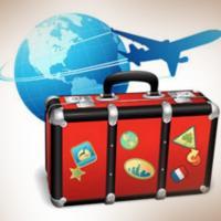World travel with healthy lifestyle&vegan
