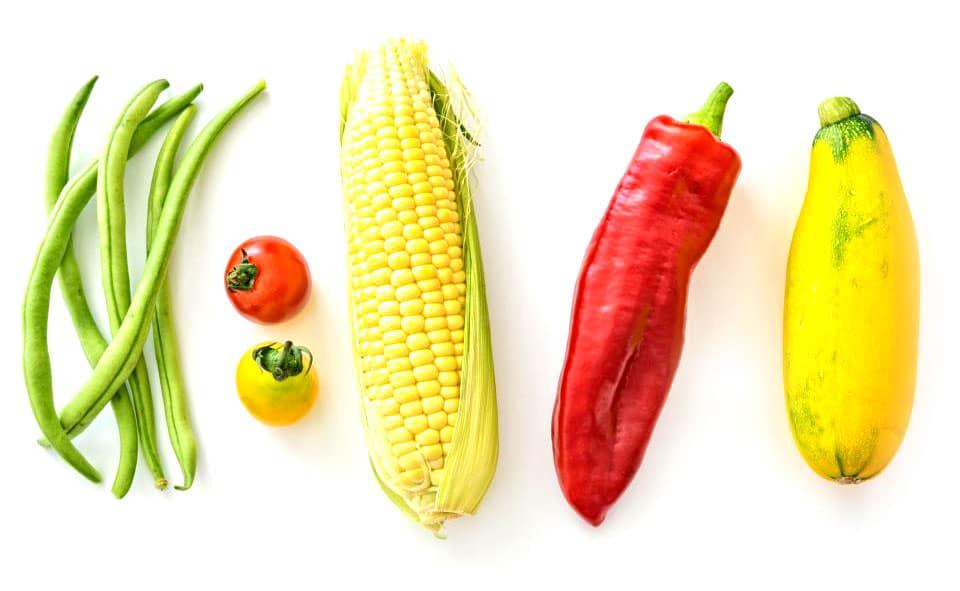 veggies-white